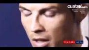 واکنش جالب و زیبا رونالدو به هواداران مسی