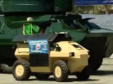 رونمایی از تجهیزات تسلیحاتی جدید ایران