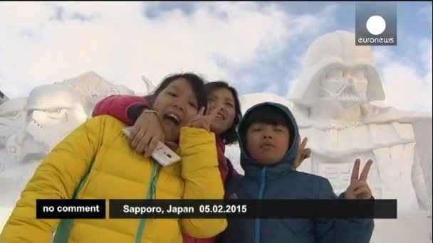 رونمایی از مجسمه های عظیم الجثه در ژاپن