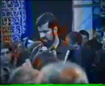حاج قدرت علیرضاپور - فیلم قدیمی ( مسجد جامع امیدیه )