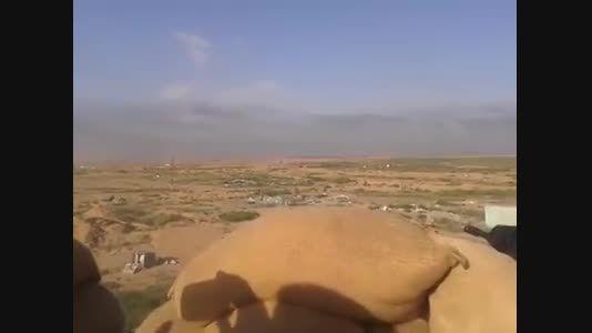 منفجر کردن کامیون انتحاری داعش قبل از رسیدن به پیشمرگه