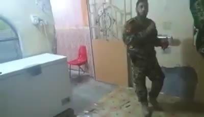 تله انفجاری داعش که به خواست خدا خنثی شد