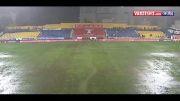 لغو بازی آیند هوون واستوریل به دلیل بارندگی شدید باران