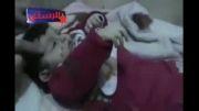 یخ زدن کودک سوری در سرمای هوا