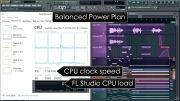 کاهش حجم کار CPU در هنگام کار با FL Studio