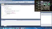 شروع کار با ماژول کنترل و پایش J-DAQ و محیط برنامه نویسی #C