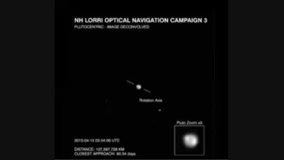 بهترین تصویر ثبت شده از سیاره ی کوتوله ی پلوتو و قمر آن