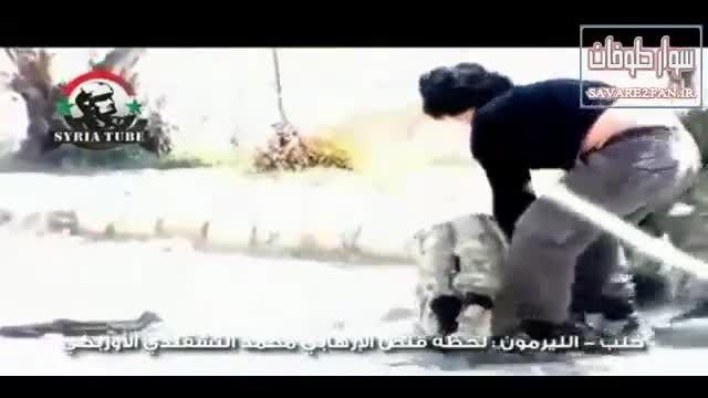 کشته شدن تروریست ازبکستانی داعش توسط تک تیرانداز ارتش!