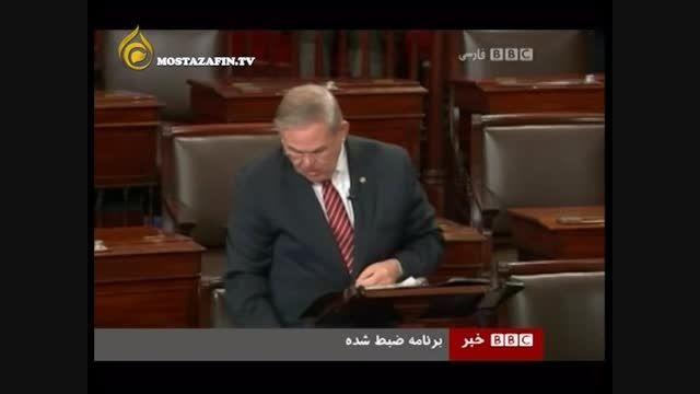 نظر سناتور آمریکایی در مورد تحریم
