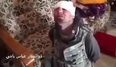 شهادت رساندن جوان بدحال عراقی توسط جنایتکاران داعش