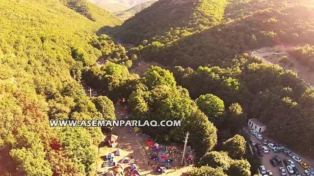 فیلم هوایی جنگل های ارسباران