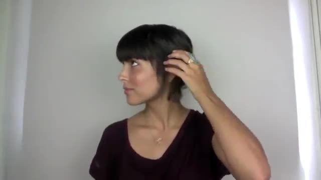 10 مدل مو خیلی ساده برای موهای کوتاه