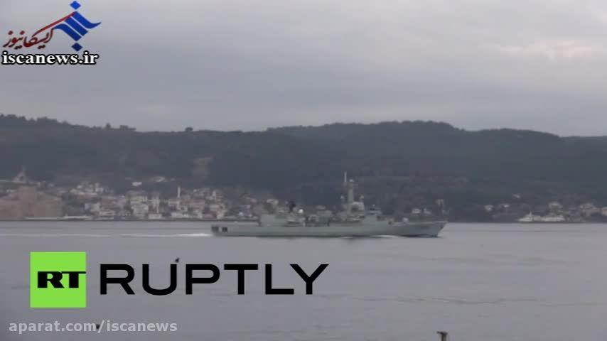 پهلو گرفتن 3 ناو جنگی ناتو در آب های ترکیه