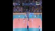 خلاصه ست دوم والیبال ایران و ایتالیا (بازی رفت - لیگ جهانی)