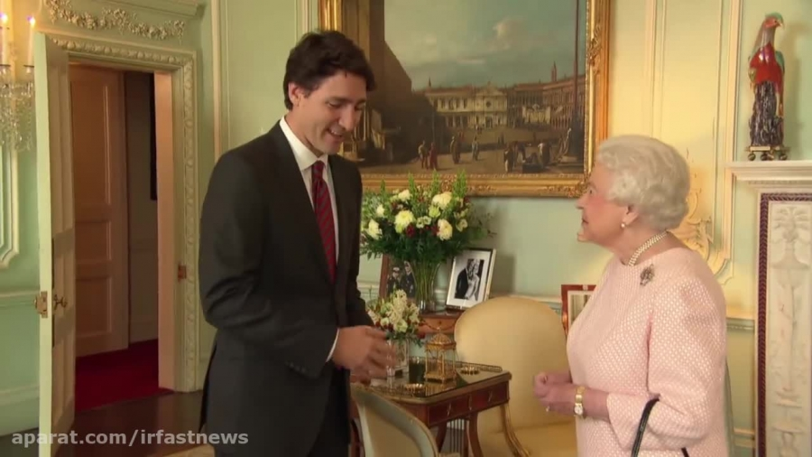 صحبت جالب نخست وزیر کانادا به ملکه انگلیس