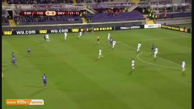 خلاصه بازی: فیورنتینا ۲-۰ دیناموکیف