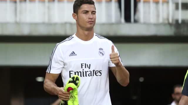 کریستیانو رونالدو در تمرینات رئال مادرید (2015.07.26)