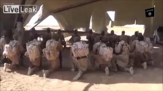 جلسه سربازان زبده داعش قبل از انجام عملیات