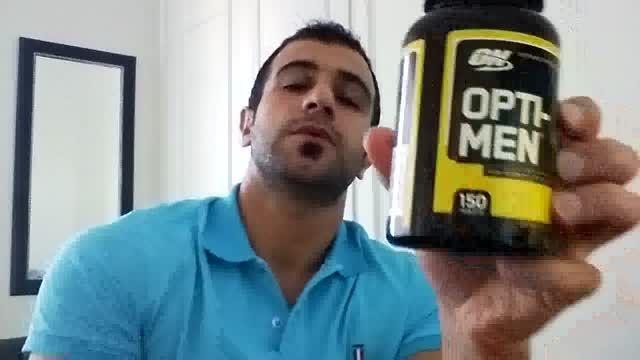 مولتی ویتامین Opti-Men - قسمت دوم