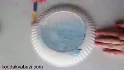 کاردستی پرنده کاغذی
