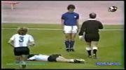 زیباترین حرکت اخلاقی فوتبالیست درموقع جریمه گرفتن!!!!!