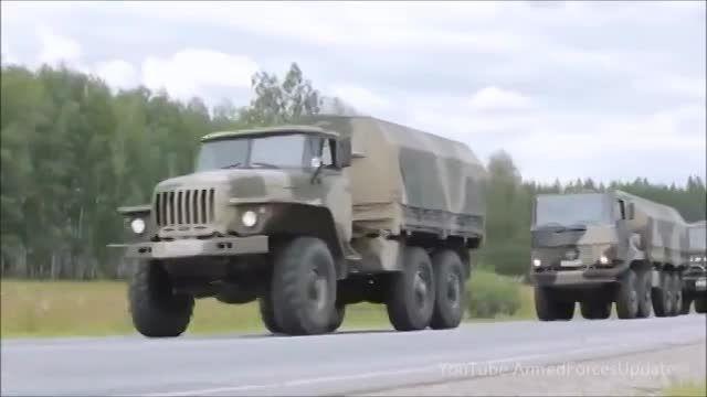 آفرود کامیون نظامی روسی
