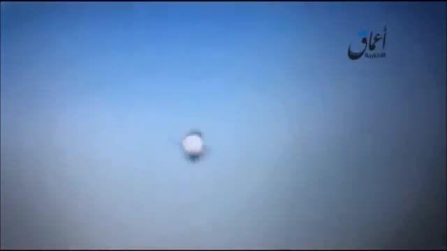 لحظه ی سقوط هواپیمای روسیه