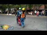 رقص خیابانی خیره کننده !