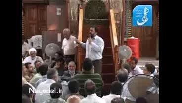 جدیدترین مداحی حاج محمود کریمی  در حرم امام حسین (ع)