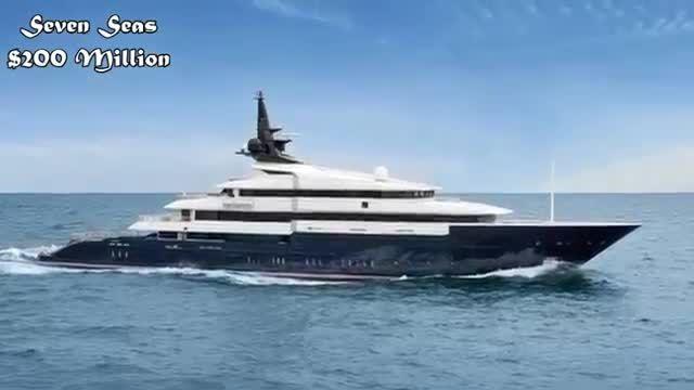 زیبا ترین و لوکس ترین قایق های جهان در سال 2015