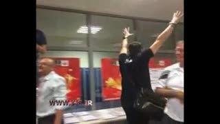 فیلم/شادی کواچ وبازیکنان تیم ملی بعد از پیروزی آرژانتین