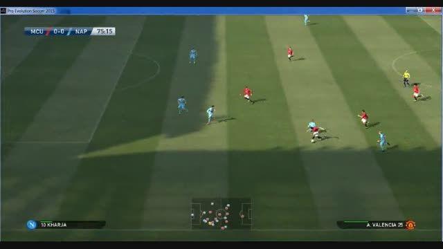 هفته دوم لیگ برتر ناپولی-منچستر یونایتد
