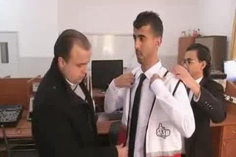 دانشجویان فلسطینی جلیقه مخصوص نابینایان اختراع کردند