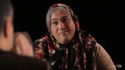 بازجویی مادر متهم (مهران غفوریان - سریال شوخی کردم)