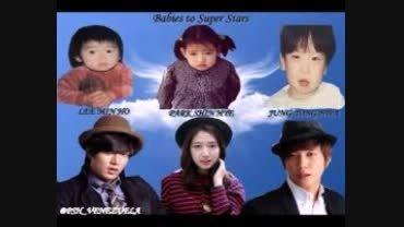 یه عکس کودکی و بزرگی 3 بازیگر معروف کره