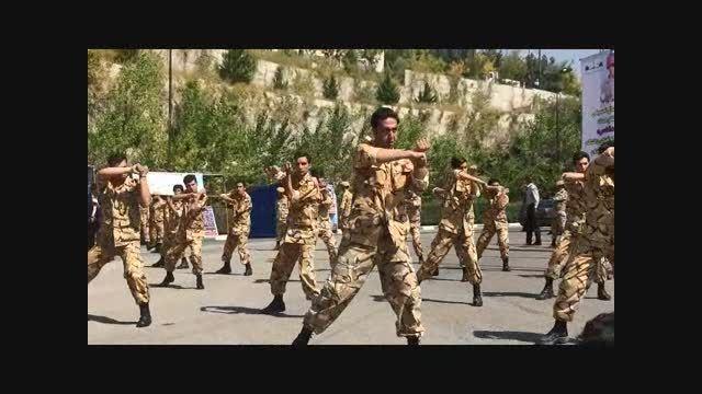 اجرای رزم کوبان توآ در ارتش جمهوری اسلامی ایران