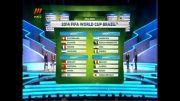 قرعه کشی جام جهانی 2014