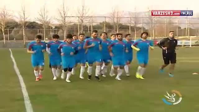 آخرین وضعیت تیم المپیک ایران