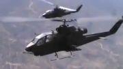 حمله هلیکوپترهای کبرای ارتش ترکیه به مواضع داعش درشمال سوریه