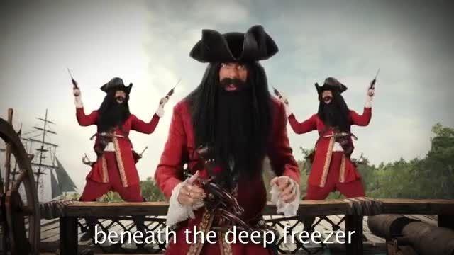 مبارزه آل کاپون با دزد دریایی (خنده دار)