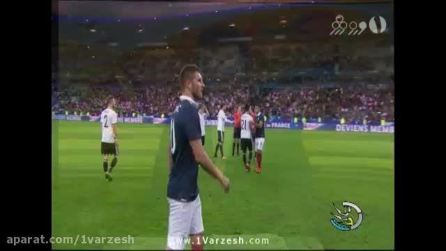پیروزی فرانسه مقابل قهرمان جهان در شب خونین پاریس