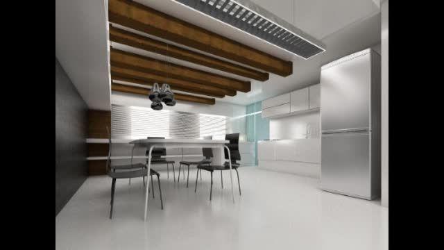 طراحی داخلی - نما - پروژه های سه بعدی ( تری دی مکس)