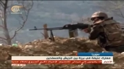 سوریه-حملات ارتش سوریه به مخالفان در حومه دمشق و حومه حلب