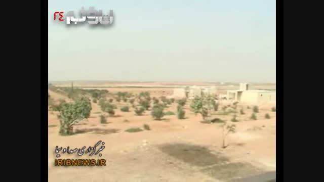 فیلم محرمانه از اتاق عملیات ارتش سوریه در حلب