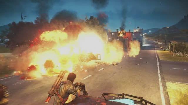 تماشا کنید: تریلر بازی Just Cause 3 - گیمزکام ۲۰۱۵