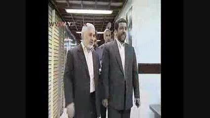 جلسه -عزت الله ضرغامی- با کاندیداهای انتخابات ریاست جمه