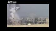 القصیر سوریه - بمباران محل تجمع تروریست ها توسط نیروی هوایی ارتش سوریه