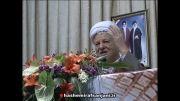 شعارهای مردم کرمانشاه در استقبال از هاشمی