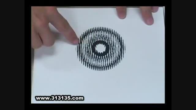 خلق تصاویر سه بعدی خارق العاده با خطای دید