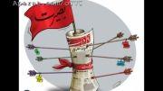 2 کاریکاتور از توقیف روزنامه 9 دی! مرگ بر تزویر و امید دشمن!